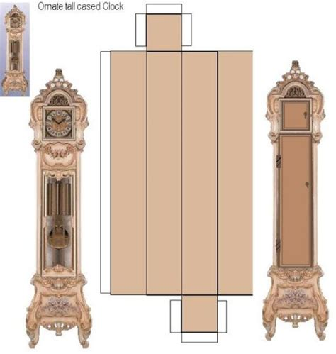 printable grandfather clock free mini grandfather clock plans woodworking projects