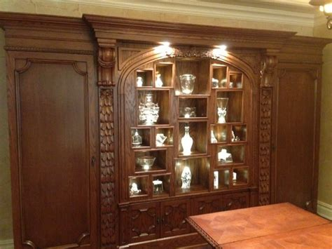 dining room curio cabinets curio cabinet traditional dining room new york by