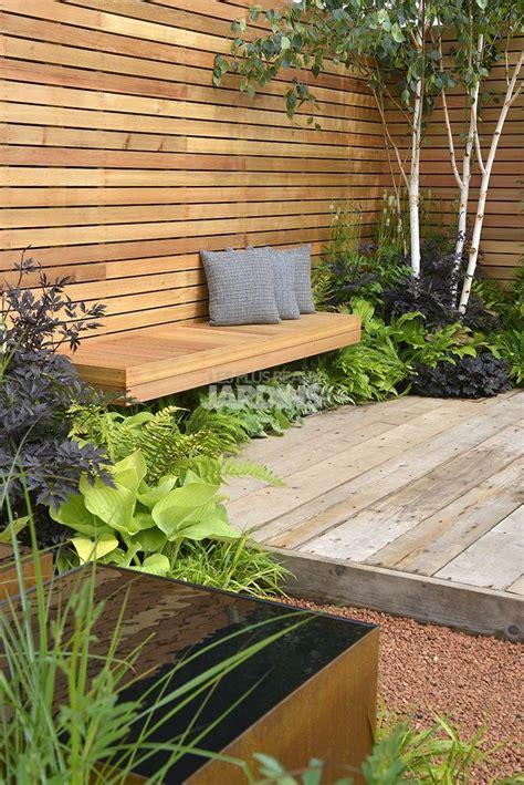 sichtschutz terrasse holz garden spaces