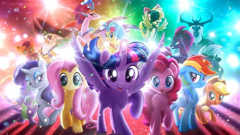 wallpaper my little pony my little pony the movie 4k wallpapers hd wallpapers