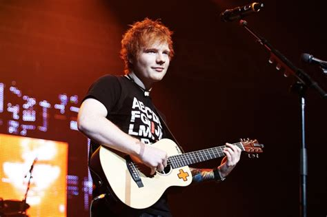 ed sheeran xcel ed sheeran on stage at xcel energy center for kdwb s