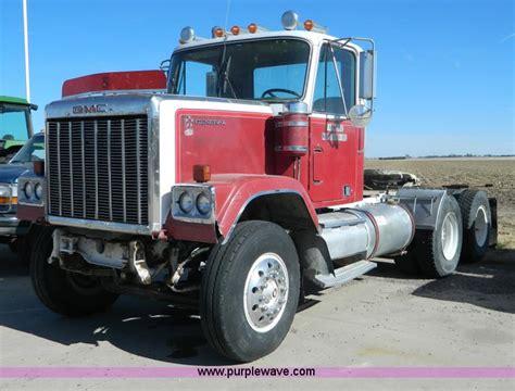 gmc semi truck 1979 gmc general semi truck item g7622 sold january