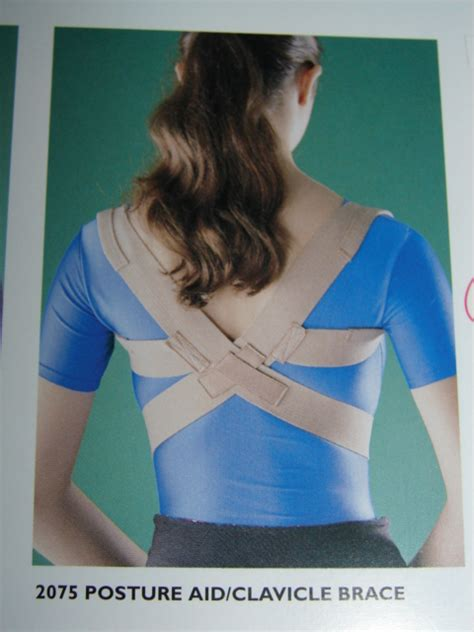 Posture Aid Clavical Brace Oppo 2075 oppo the sports medic