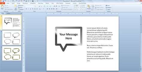 templates powerpoint original original callout ideas for powerpoint presentations