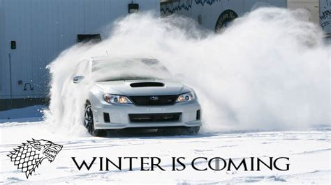 subaru winter brace yourselves the winter is coming subaru wrx