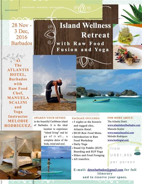 Mind Detox Retreat by Island Wellness Detox With Food Fusion
