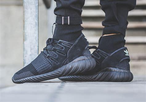 adidas tubular doom adidas tubular doom primeknit triple black sneaker bar