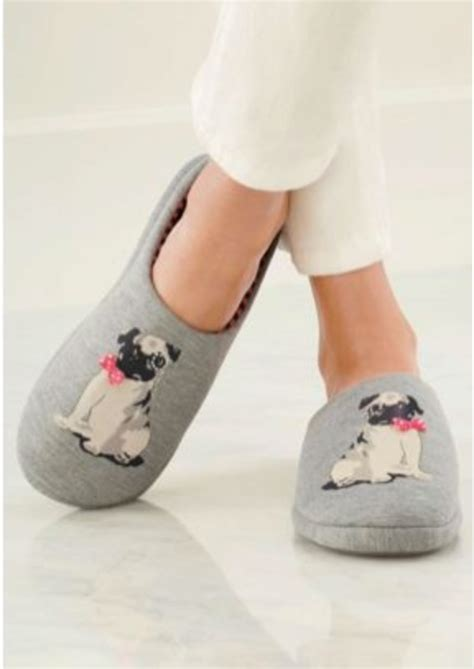 pug in pug slippers pug slippers pugs pugs and more pugs pug and slippers