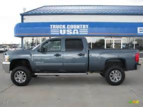 2008 blue granite metallic chevrolet silverado 2500hd lt