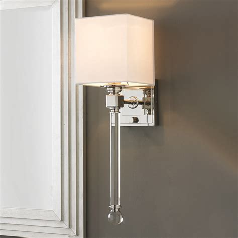 shades of light sconces chic sophisticate crystal torch wall sconce shades of light