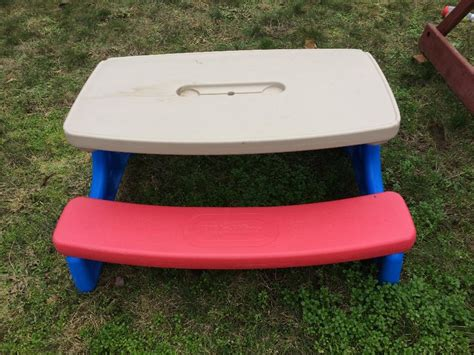 little tikes picnic bench large little tikes picnic table sooke victoria