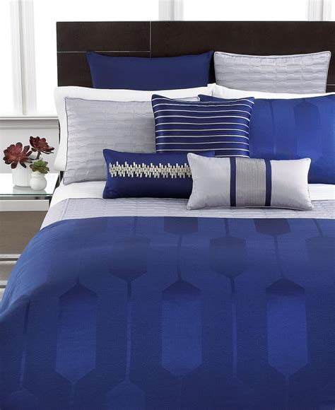 Cobalt Blue Bedding by Hotel Collection Bedding Links Cobalt From Macys Epic