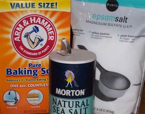 Detox Bath Recipe Epsom Salt And Baking Soda by Spa Day Saturday Detoxing Foot Soak