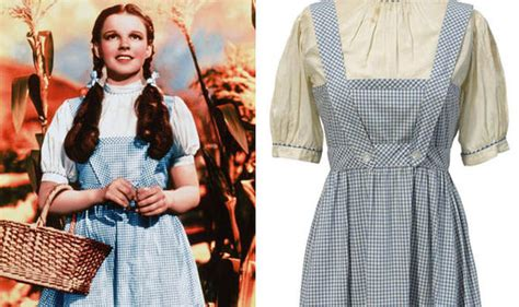 Dress Oz dress worn by judy garland from the wizard of oz to go on