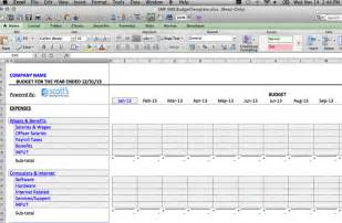 Business Plan Expenses Template by Business Budget Template Use This Free Template For Your