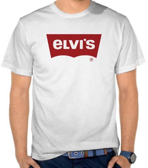 Elvis Kaos Baju jual kaos elvis parodi logo levis parodi logo