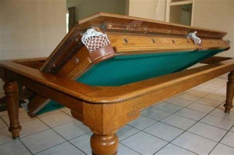 Pool Table As A Dining Table Fusion Pool Table And Dining Table Home Design Garden Architecture Magazine