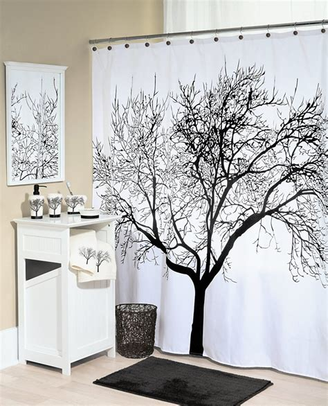 Shower Curtains With Trees Black Tree Shower Curtain Best Selection In Town