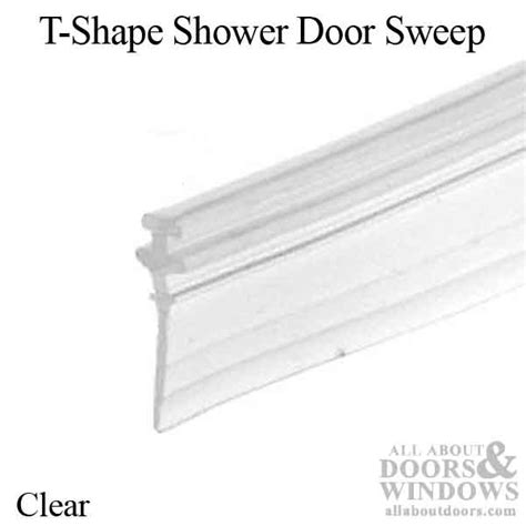 Shower Door T Sweep Shower Door Sweeps Shower Door Bottom Seal All About Doors
