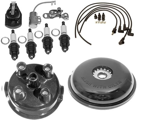 complete tune  kit  ford  tractor  side mount distributor sn  ebay