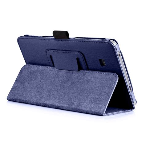 Leather Tablet 7inch slim leather cover for samsung galaxy tab a 7 0 7