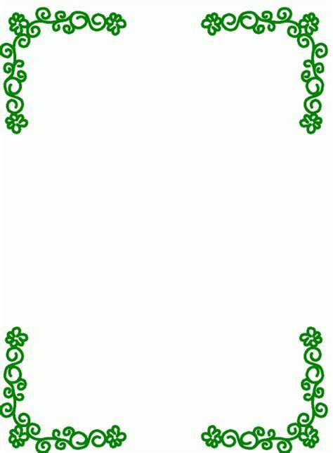 Word Vorlage Mit Rahmen Rahmen Blumen Gruen Ausmalbild Malvorlage Rahmen