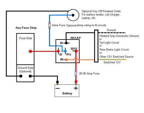 14 pin relay wiring diagram topic aux fuse box wiring 101 read 23842 times relays