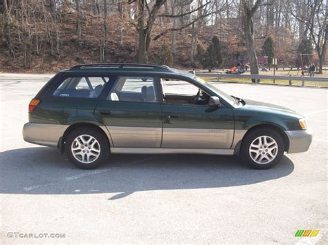 green subaru outback 2002 timberline green subaru outback wagon 60753013 photo