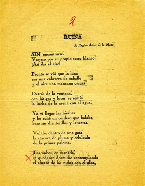 poemas de 4 estrofas de la vida publicar 225 n quot poeta en nueva york quot como lorca lo concibi 243