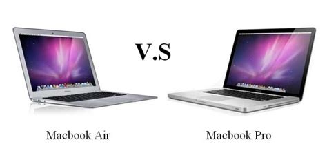Macbook Pro Air macbook pro vs air which is better iosorchard