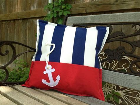 Outdoor Anchor Pillow by 1000 Ideas About Nautical Pillows On