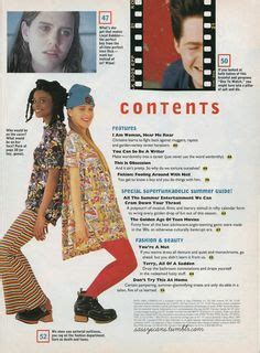 Sevigny In 1992 A Sassy Magazine Intern by 1000 Images About 1990s On 1990s Clarissa