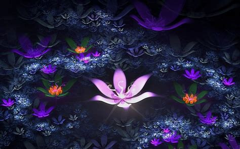 wallpaper 3d lotus download 3d neon flower for android 3d neon flower 1 0