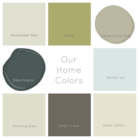 paint colors mcnab interiors inc