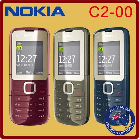 nokia c2 classic themes classic genuine unlocked nokia c2 00 mobile phone black