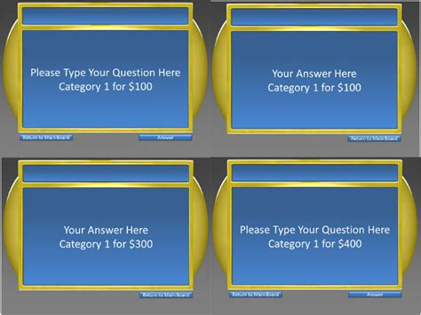 Jeopardy Template Keynote 6 Free Ppt Documents Download 6 Category Jeopardy Template