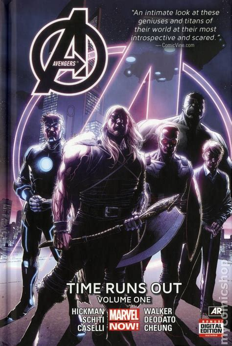 avengers time runs out comic books in time runs out marvel