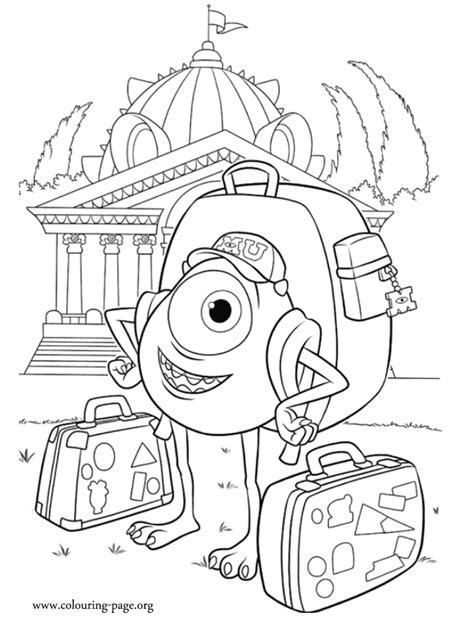 printable coloring pages monsters university monster university coloring printable coloring pages