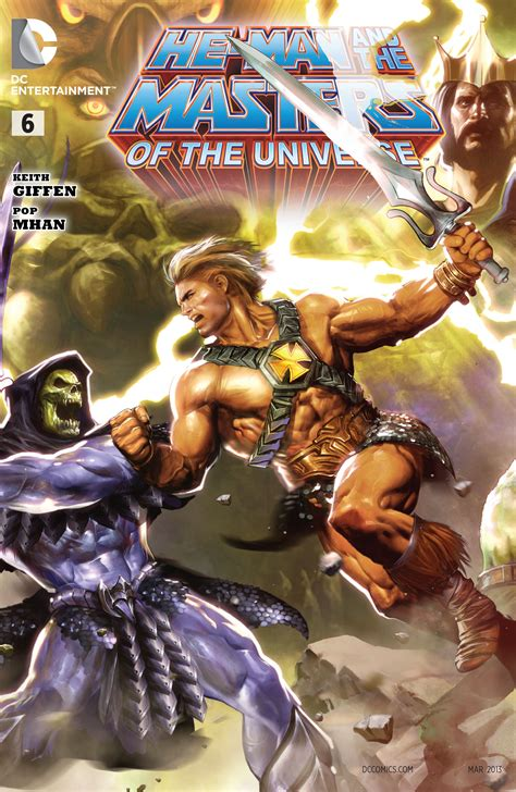 Master Vol 6 1 he and the masters of the universe vol 1 6 dc comics database