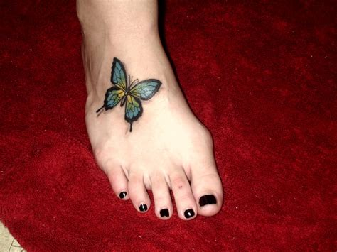 foot ankle tattoos butterfly tattoos designs ideas and meaning tattoos for you