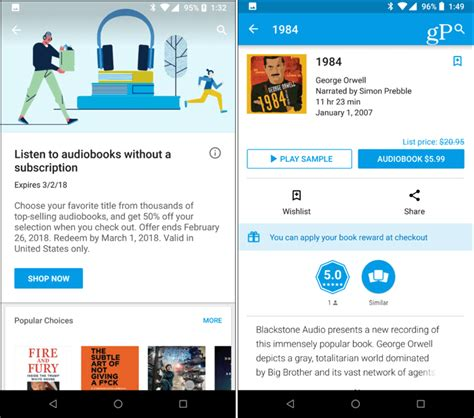 Play Store Books How To Buy And Listen To Audiobooks From Play