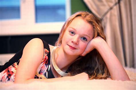 child model lane north tyneside teen model harriotte lane chronicle live