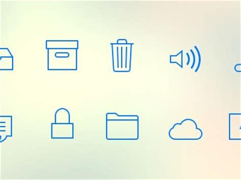 apple ios 7 tab icon sketch freebie download free