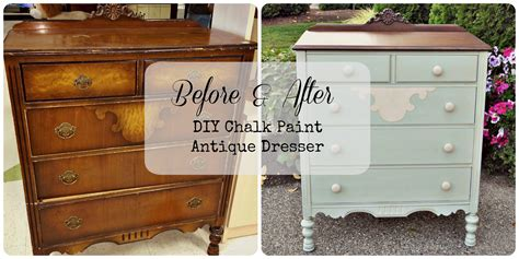 Chalk Paint On Dresser by Diy Chalk Paint Antique Dresser Gray Table Home