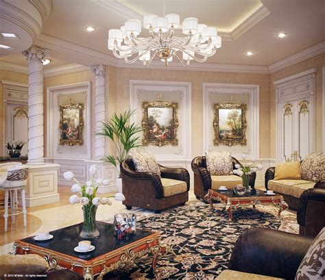 luxury decor luxury villa in qatar visualized