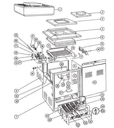 boiler parts diagram poolpartmart purex tropic isle boiler spare parts