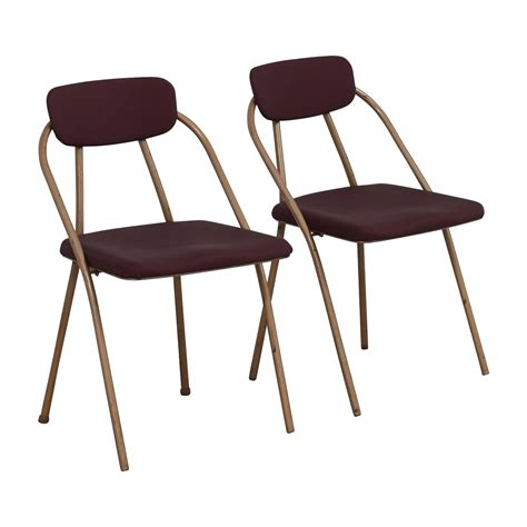 used stackable restaurant chairs 68 1960 s purple folding metal chairs chairs