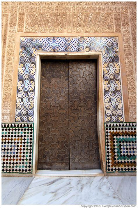 Pictures Of Home Interiors Door Nasrid Palace Alhambra Photo Id 14563 Granada