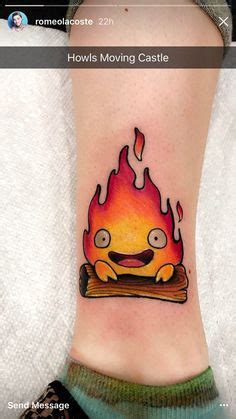 calcifer tattoo my calcifer from howls moving castle