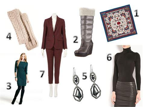 Womens Wardrobe Essentials by Winter Wardrobe Essentials Eric Himel